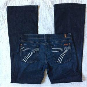 7FAMK DOJO flare jeans